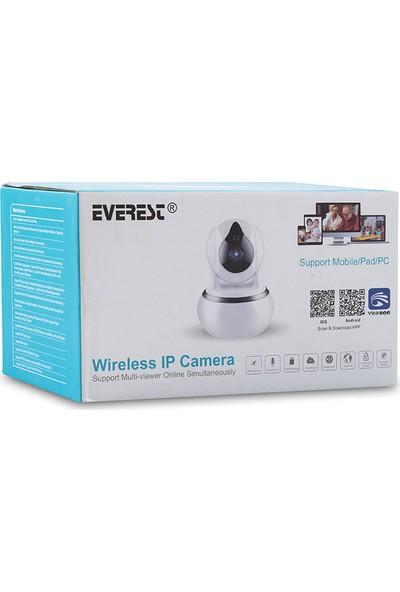 Everest DF-805W 2.0 Mp Hd Lens 3.6mm Ip Smart Wifi Network Tf Card Güvenlik Kamerası Yoosee