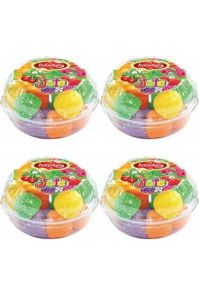 Balşeker Jöle Meyve Aromalı Yumuşak Şeker 4 x 200 gr