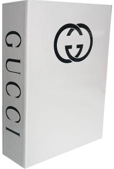 Lyn Home Guccı Beyaz Dekoratif Kutu 27x19x4