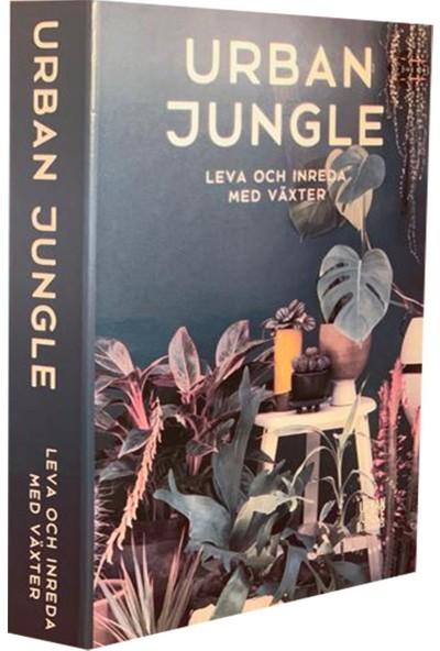 Lyn Home Urban Jungle Dekoratif Kutu 27x19x4