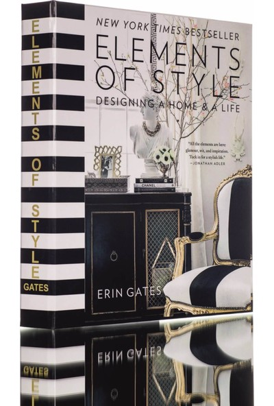 Lyn Home Elements Of Style Dekoratif Kutu 24,5x19,5x3