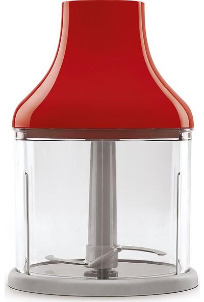 Smeg HBF02RDEU Kırmızı El Blenderi Set