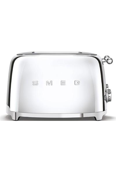 Smeg TSF03SSEU Krom/Çelik Ekmek Kızartma 4 Slot