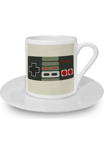 Flustore Gamepad Arcade Atari Türk Kahvesi Fincanı