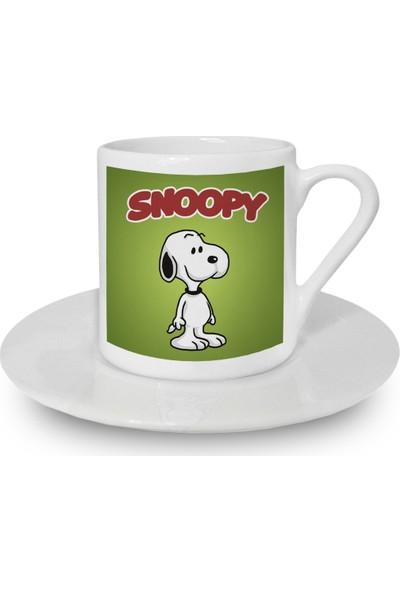 Flustore Snoopy Türk Kahvesi Fincanı