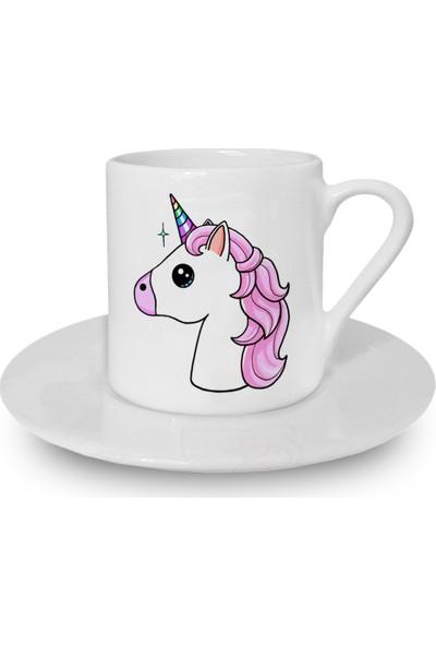 Flustore Unicorn Türk Kahvesi Fincanı