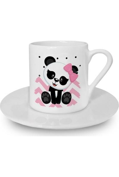 Flustore Panda Türk Kahvesi Fincanı