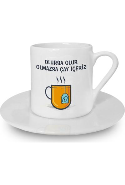 Flustore Olursa Olur Olmazsa Çay Içeriz Türk Kahvesi Fincanı