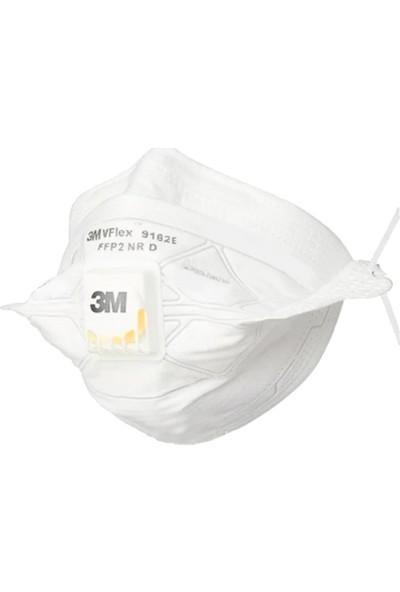 3M 9162E Vflex Ffp2 N95 Solunum Koruyucu Maske 10'lu