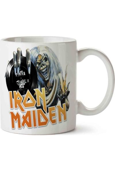 Art Hediye Iron Maiden Tarz Kupa Bardak