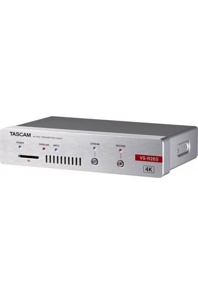 Tascam VS-R265 4K UHD Video Aktarım Cihazı ve Kaydedici
