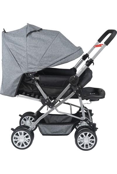 Esy Baby Comfort Çi̇ft Yönlü Tam Kapanır Tente Bebek Arabası