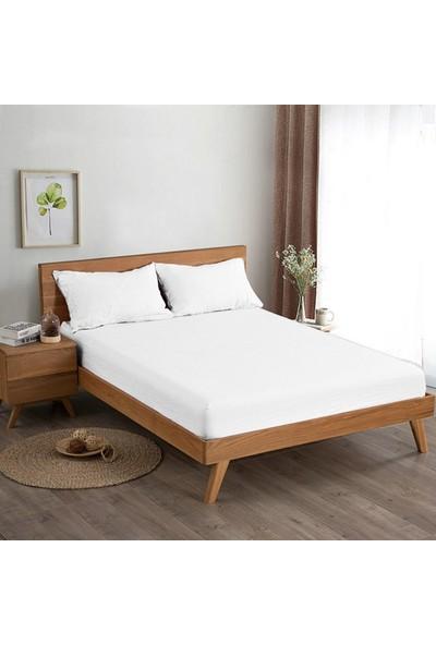 Belnido Home Pamuk Lastikli Penye Çarşaf Çift Kişilik 160 x 200 cm