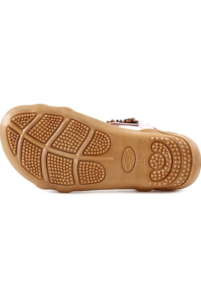 Guja 20Y153-10 Çocuk Çapraz Bant Taşlı Sandalet