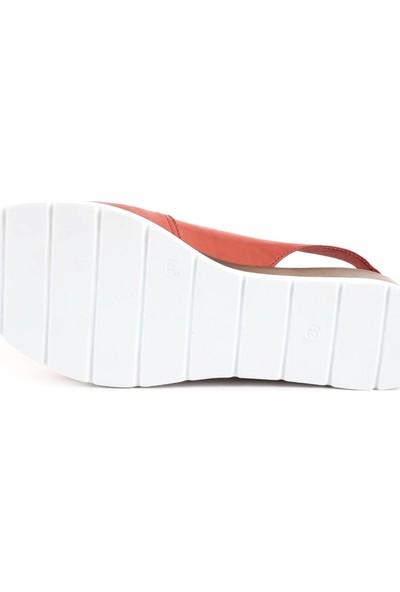 Dgn 2013 Kadın Dolgu Taban Slingbacks Sandalet 20Y
