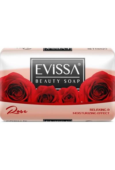 Evissa Güzellik Sabunu 140 gr 6 Adet Gül