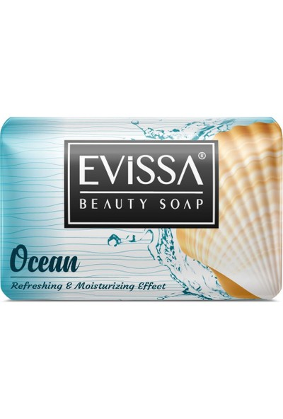 Evissa Güzellik Sabunu 100 gr 6 Adet Okyanus