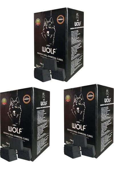 Wolf Hindistan Cevizi Nargile Kömürü 3 Adet