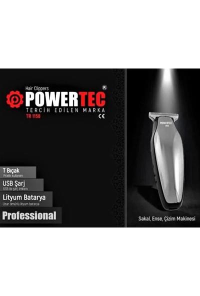 Powertec TR-1158 Saç Sakal Tıraş Makinesi