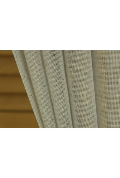Massarelli Keten Tül Mavi 1-2,5 Orta Sık Pile 100 x 260 cm