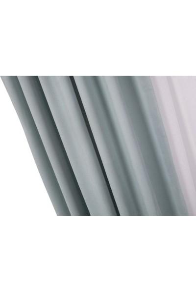 Massarelli Fon Perde Mint Rengi 1-2,5 Orta Sık Pile 60 x 260 cm