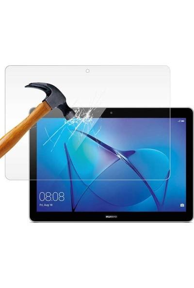 """Fujimax Huawei MediaPad T5 10"""" 360 Dönerli Tablet Kılıf + 9H Temperli Ekran Koruyucu"""