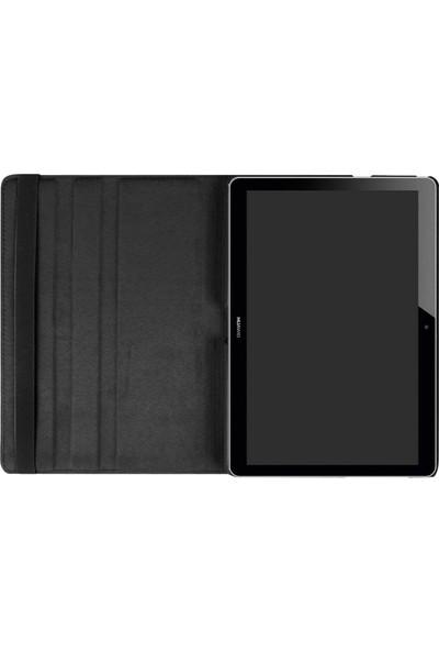 Fujimax Huawei MatePad T8 360 Dönerli Tablet Kılıf + 9H Temperli Ekran Koruyucu