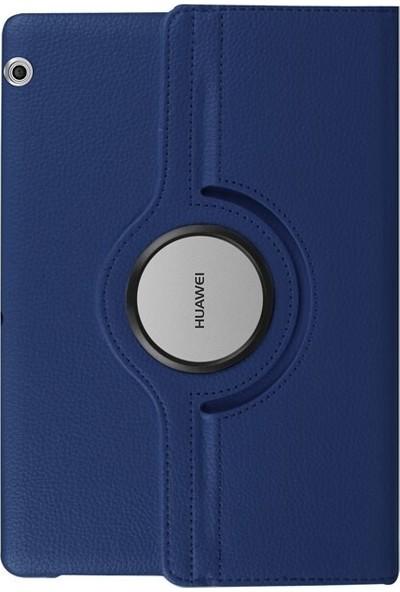 Fujimax Huawei MatePad T8 360 Dönerli Tablet Kılıf + 330 Derece Bükülebilen 9H Nano Ekran Koruyucu