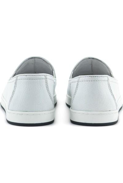 Kemal Tanca Deri Erkek Günlük Ayakkabı 9576
