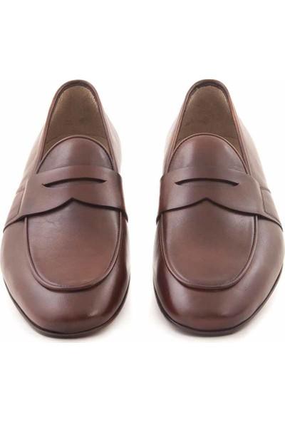 Mocassini Deri Bağcıksız Erkek Klasik Ayakkabı C9093