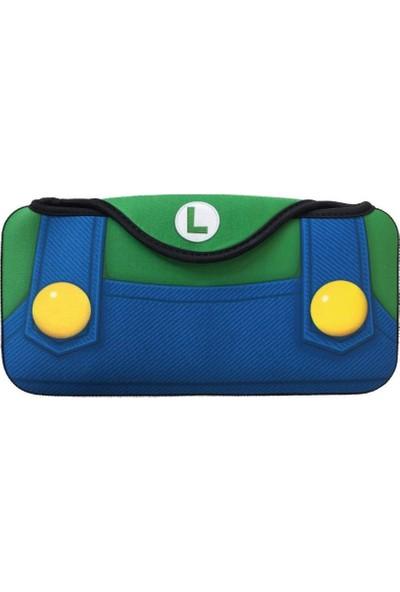 Keys Factory Nintendo Switch Çanta Luigi Quick Pouch Collection