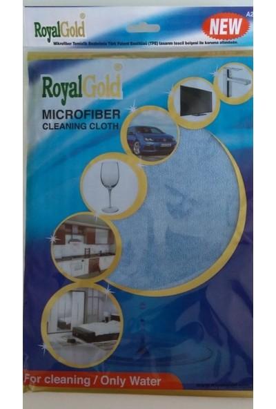 Royal Gold Nanosilver Bukalemun Mikrofiber Çok Amaçlı Süper Genel Temizlik Bezi 40 x 40