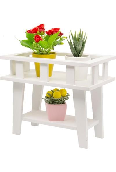 Decorev Dekoratif Beyaz Çiçeklik