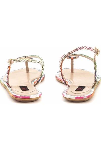 Rouge Deri Kadın Sandalet 0197-285