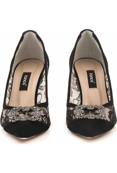 Kemal Tanca Stiletto Kadın Klasik Ayakkabı 1569