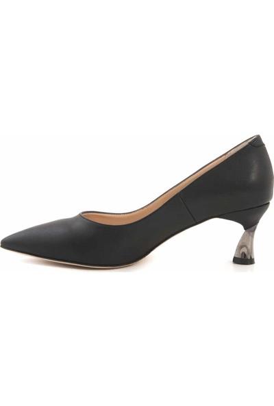 Kemal Tanca Platform Kadın Klasik Ayakkabı H247