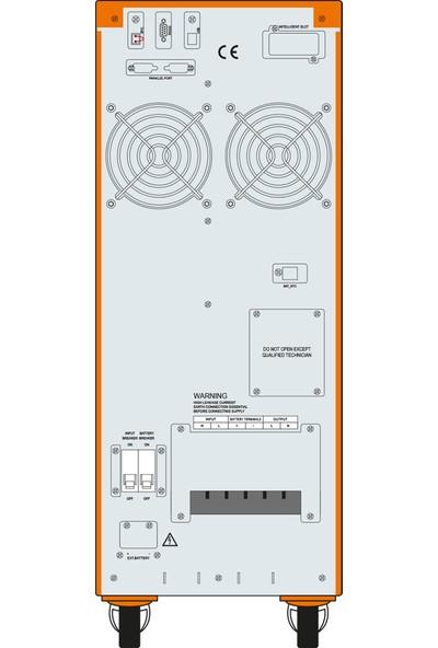 Makelsan Powerpack Se 6 KVA (16x7AH) 1F/1F On-Line Ups
