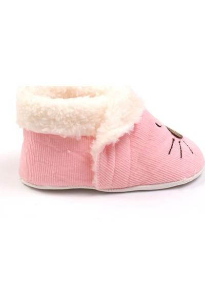 Funny Baby Fare Nakışlı Kışlık Bebek Ayakkabı