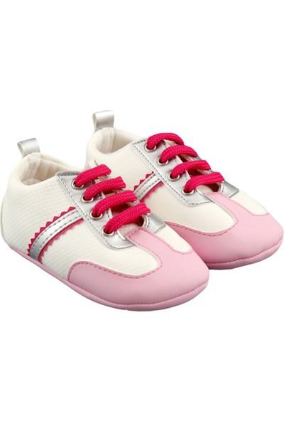 Funny Baby Bağcıklı İlk Adım Ayakkabısı