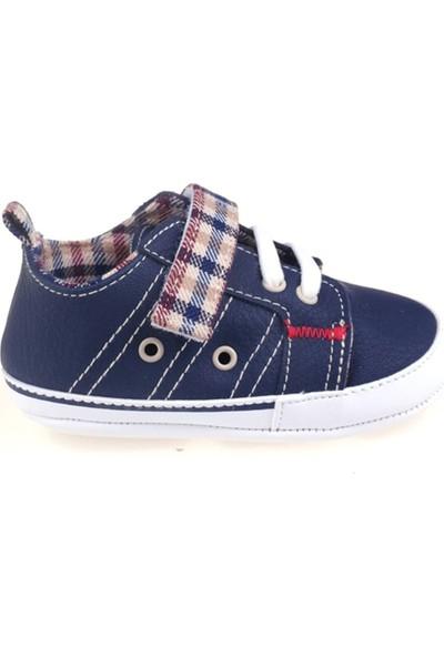 Funny Baby Lastikli Cırtlı İlk Adım Ayakkabısı