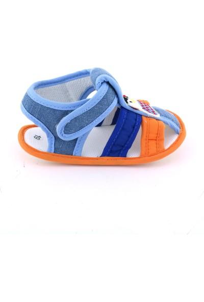 Funny Baby Penguen Nakışlı Sandalet
