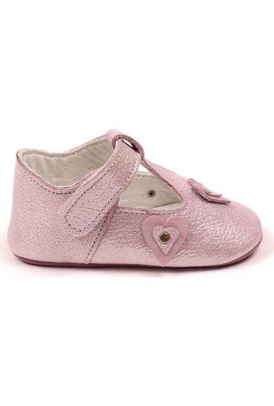 Funny Baby Bağcıklı Deri Ayakkabı