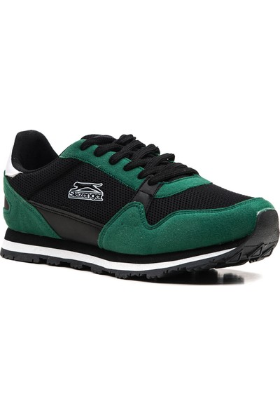 Slazenger Isco Günlük Giyim Erkek Ayakkabı Siyah Yeşil