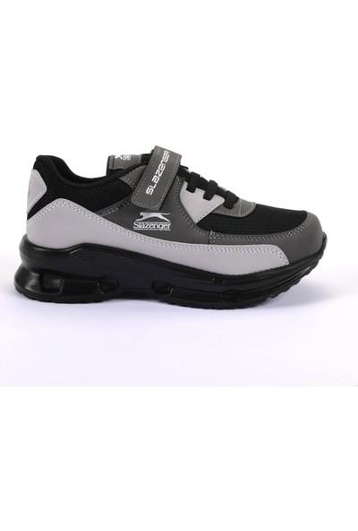 Slazenger AKURA Spor Çocuk Ayakkabı Siyah Gri
