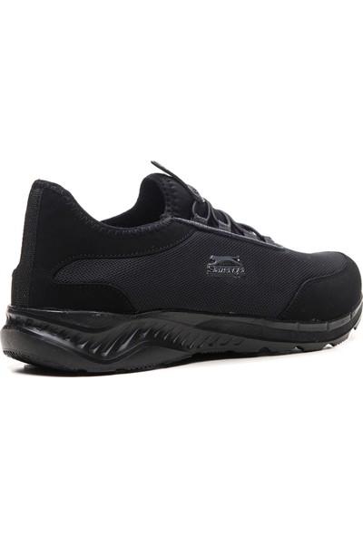 Slazenger PASHA Koşu & Yürüyüş Erkek Ayakkabı Siyah Siyah