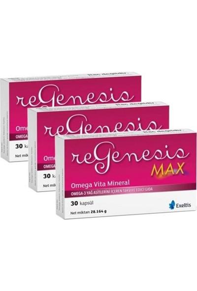 Exeltis Regenesis Max Omega-3 30 Kapsül | 3 Adet
