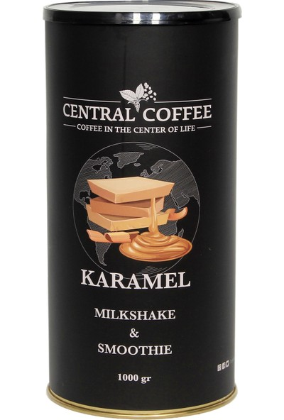 Central Coffee Karamelli Milkshake&smoothıe Tozu 1 kg