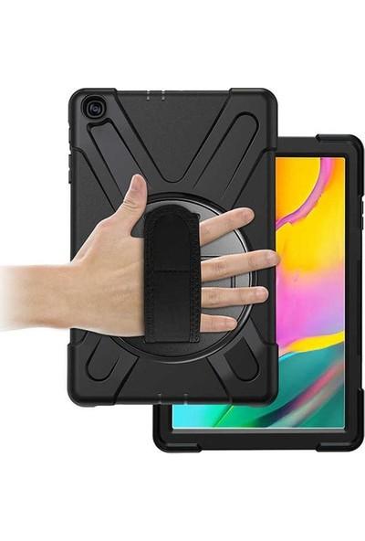 Fujimax Samsung T290/T295/T297 Zırh Özellikli Defender Tablet Kılıf Siyah