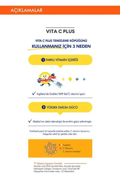 Mıssha Vita C Plus Spot Clear Complexıon - C Vitaminli Leke Karşıtı Temizleme Köpüğü 100 ml