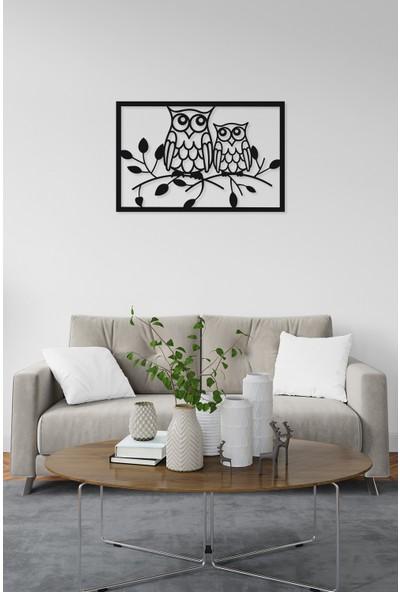 M&c Concept Owl Metal Duvar Panosu Siyah